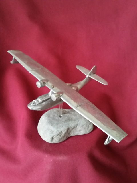Hand Crafted model WWII Catalina 202 Squadron Coastal