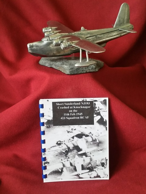 Hand Crafted Model WWII Short Sunderland NJ183 1/144 Scale