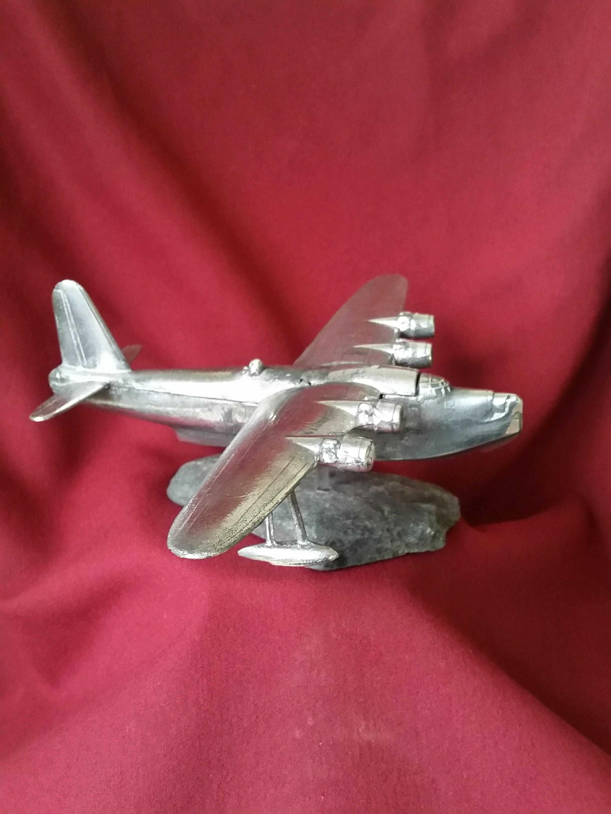 Hand Crafted Model WWII Short Sunderland NJ183 1/144 Scale