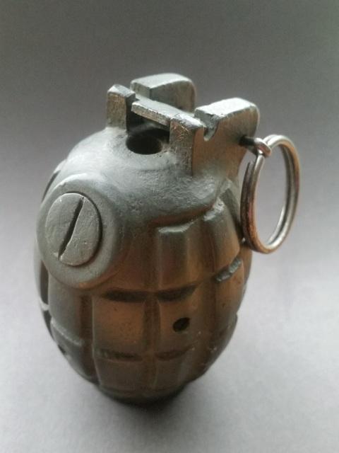 WWII British M36 Inert Mills Grenade