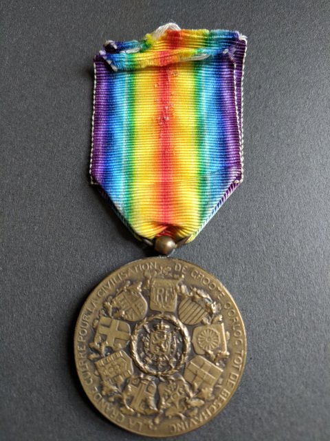 The Great War Belgium Victory Medal